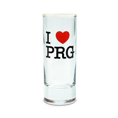 sklo mini  I love PRG