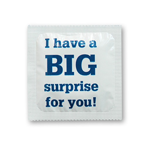 kondom Big surprise M