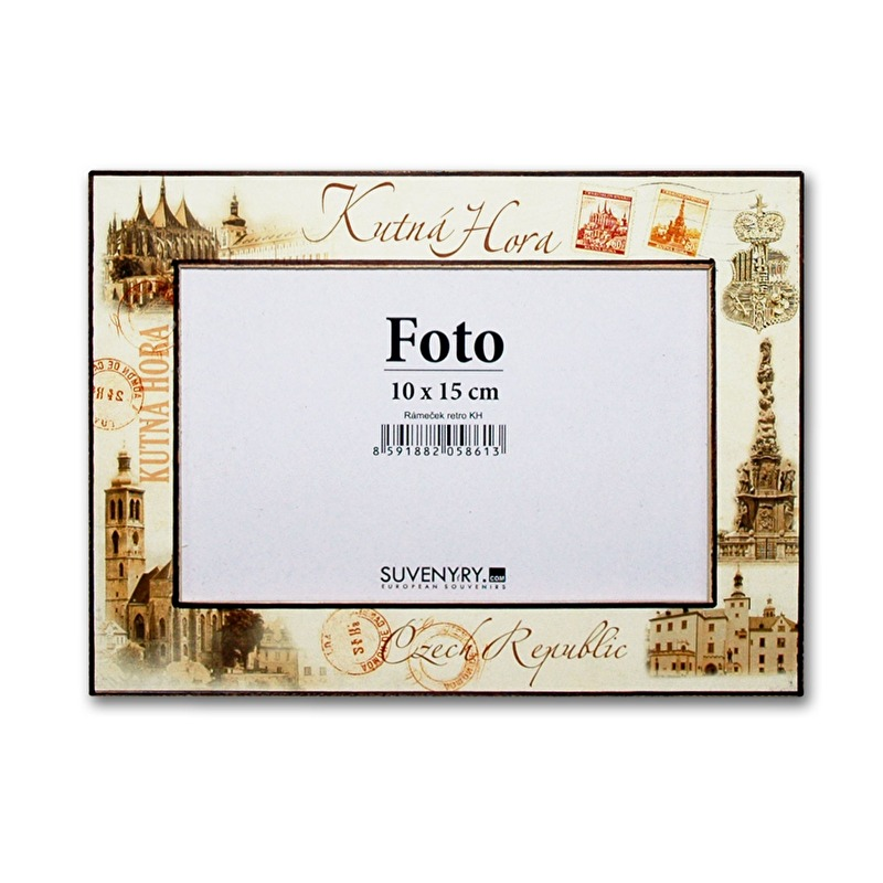 Photo frame Kutna Hora 10x15 Retro | Suvenyry.com