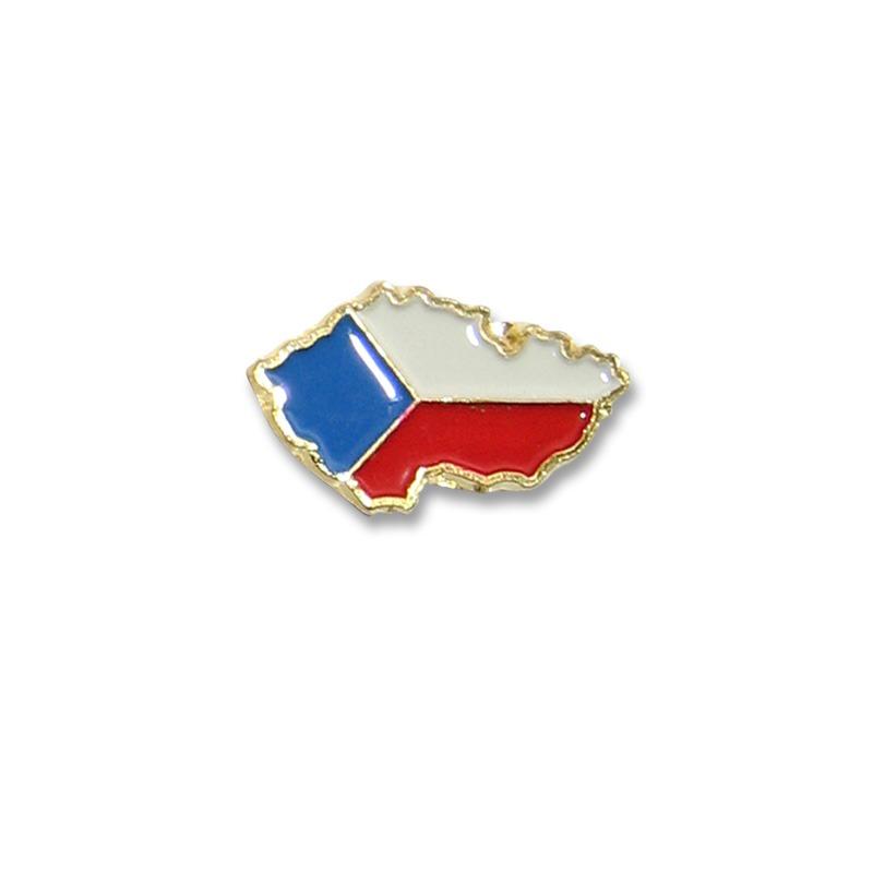 odznak vlajka republika  18.
