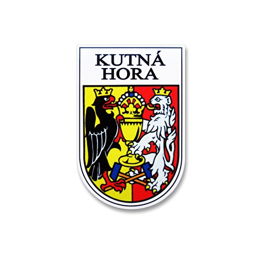 Sticker Kutna Hora coat of arms