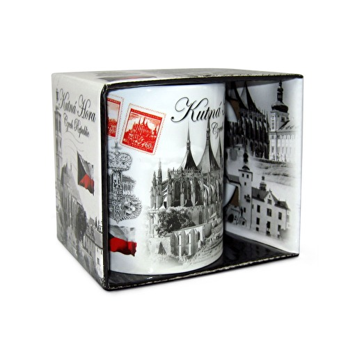 Mug Kutna Hora with a box Montaz