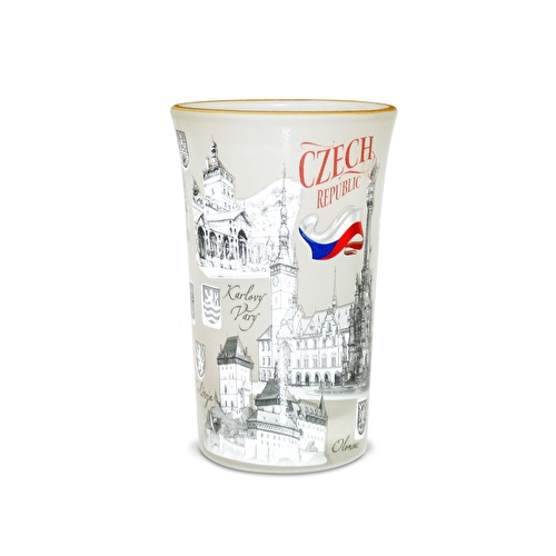 Shotglass Czech Republic II.