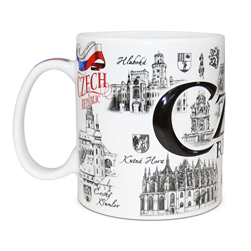 Mug giga Czech Republic