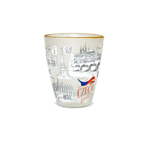 Shotglass Czech Republic I.