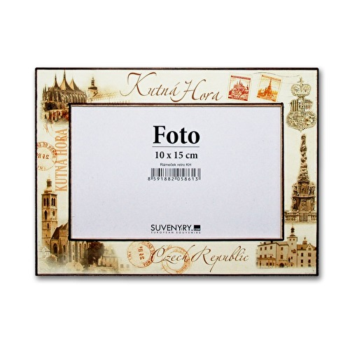 Photo frame Kutna Hora 10x15 Retro