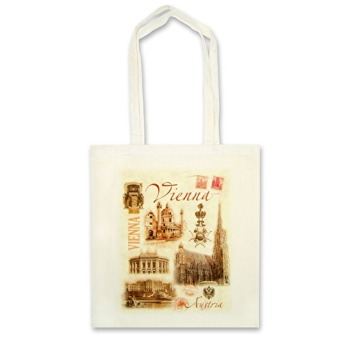 Cloth bag Retro Vienna